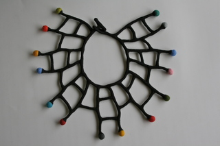 Felt necklace ll