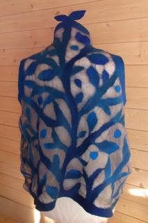 Garden vest back side